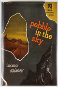 Books:Science Fiction & Fantasy, Isaac Asimov. SIGNED/LIMITED. Pebble in the Sky. Garden City: Doubleday, [1990]. Fortieth anniversary edition, ...