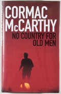 Books:Fiction, Cormac McCarthy. No Country for Old Men. [London]: Picador,[2005]. First British edition, first printing. Octavo. 3...