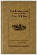 Books:Americana & American History, J. W. Ratchford. Some Reminiscences of Persons and Incidents ofthe Civil War. [Austin: Shoal Creek Publishers, 1971...