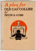 Books:Americana & American History, Irvin S. Cobb. A Plea for Old Cap Collier. New York: Doran,[1921]. Twelvemo. 56 pages. Publisher's binding with som...