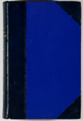 Books:Americana & American History, [Republic of Texas]. Annual Report of the American HistoricalAssociation for the Year 1907. Volume II. Part I. and for ...(Total: 3 Items)