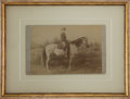 Photography:Cabinet Photos, Robert E. Lee on Traveller Albumen Photograph....