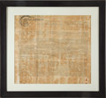 Autographs:U.S. Presidents, George Washington Signed Land Indenture Engrossed Entirely in his Hand, and Containing an Additional Nineteen Signatures by Wa...