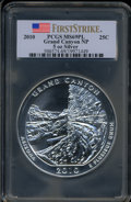 2010 25C Grand Canyon Five Ounce Silver, First Strike MS69 Prooflike PCGS. PCGS Population (2509/0). NGC Census: (0/0)...