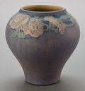 Ceramics & Porcelain, American:Modern  (1900 1949)  , A NEWCOMB ART POTTERY VASE DECORATED BY JOSEPH MEYER . Circa 1920 .Marks: NC, JM, KH70, 292. 6-1/2 inches high (16.5 cm...