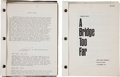 "Movie/TV Memorabilia:Documents, A Gene Hackman Set of Scripts from ""A Bridge Too Far"" and""Apocalypse Now.""... (Total: 3 Items)"