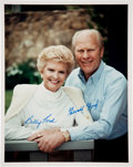 Autographs:U.S. Presidents, Gerald and Betty Ford Signed Photograph....