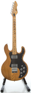 Musical Instruments:Electric Guitars, 1980's Peavey T-60 Natural Solid Body Electric Guitar, Serial#00995266....