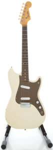 Musical Instruments:Electric Guitars, 1963 Fender Duo-Sonic White Solid Body Electric Guitar, Serial #L14592....