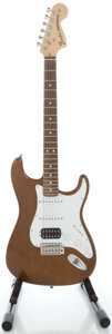 Musical Instruments:Electric Guitars, 2004 Fender Highway 1 Stratocaster Walnut Solid Body ElectricGuitar, Serial #Z4009344....