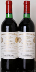 Red Bordeaux, Chateau Cheval Blanc 1980 . St. Emilion. 1tc, 1sdc. Bottle(2). ... (Total: 2 Btls. )