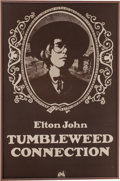 "Music Memorabilia:Posters, Elton John Original Promotional Poster for ""TumbleweedConnection""...."
