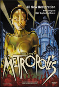"Movie Posters:Science Fiction, Metropolis (Kino, R-2002). One Sheet (27"" X 40"") DS. ScienceFiction.. ..."