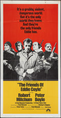 "Movie Posters:Crime, The Friends of Eddie Coyle (Paramount, 1973). Three Sheet (41"" X81""). Crime.. ..."