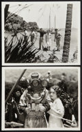 "Movie Posters:Adventure, The Sea God (Paramount, 1930). Photos (2) (8"" X 10""). Adventure.. ... (Total: 2 Items)"
