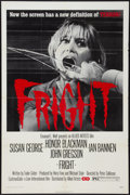 "Movie Posters:Horror, Fright (Allied Artists, 1972). One Sheet (27"" X 41""). Horror.. ..."