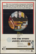 """Movie Posters:Crime, The FBI Story (Warner Brothers, 1959). One Sheet (27"""" X 41"""").Crime.. ..."""