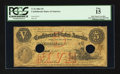 Confederate Notes:1861 Issues, T32 $5 1861 PF-1 Cr. 246 HOC.. ...