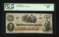 Confederate Notes:1862 Issues, T41 $100 1862 PF-UNL Cr. 315A.. ...