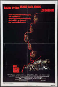 """The River Niger (Cine Artists Pictures, 1976). One Sheet (27"""" X 41"""") Style B. Drama"""