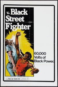 "The Black Street Fighter (New Line, 1976). One Sheet (27"" X 41""). Blaxploitation"