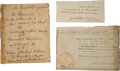 "Miscellaneous:Ephemera, Early 19th Century Medical Manuscript Titled, ""An InauguralDissertation on Bubonocele,"" by Henry Neill...."