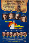 "Movie Posters:Action, The Towering Inferno (20th Century Fox, 1974). One Sheet (27"" X 41""). Advance. Action.. ..."
