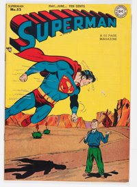 Superman #52 (DC, 1948) Condition: VG/FN