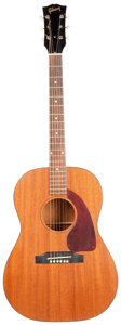 Musical Instruments:Acoustic Guitars, 1964 Gibson LG-0 Mahogany Acoustic Guitar, Serial #215378....