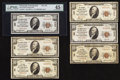 National Bank Notes:Pennsylvania, A Parade of Eight Pittsburgh Small Size Nationals.. ... (Total: 8notes)