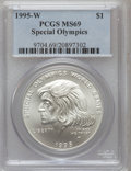 Modern Issues, 1995-W $1 Special Olympics MS69 PCGS. PCGS Population (1022/93).NGC Census: (641/209). Numismedia Wsl. Price for problem ...