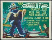 "Forbidden Planet (MGM, 1956). Title Lobby Card (11"" X 14""). Science Fiction"