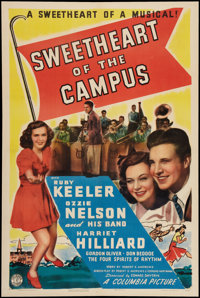"Sweetheart of the Campus (Columbia, 1941). One Sheet (27"" X 41""). Musical"