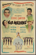 """Movie Posters:Musical, Kid Millions (Film Classics, R-1940s). One Sheet (27"""" X 41""""). Musical.. ..."""