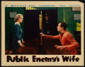 """Movie Posters:Crime, Public Enemy's Wife (Warner Brothers, 1936). Lobby Card (11"""" X 14""""). Crime.. ..."""