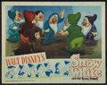 "Movie Posters:Animation, Snow White and the Seven Dwarfs (RKO, R-1943). Lobby Card (11"" X14""). Animation.. ..."