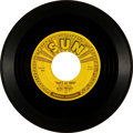 "Music Memorabilia:Recordings, Elvis Presley ""That's All Right""/ ""Blue Moon of Kentucky"" Sun 45(Sun 209, 1954)...."