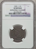 1828 1/2 C 13 Stars -- Improperly Cleaned -- NGC Details. XF. NGC Census: (27/1232). PCGS Population (53/590). Mintage:...