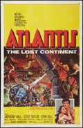"Movie Posters:Adventure, Atlantis, the Lost Continent (MGM, 1961). One Sheet (27"" X 41"").Adventure.. ..."