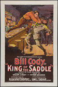 "Movie Posters:Western, King of the Saddle (Associated Exhibitors, 1926). One Sheet (27"" X 41""). Western.. ..."