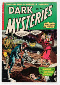 Golden Age (1938-1955):Horror, Dark Mysteries #12 (Master Publications, 1953) Condition: FN-....