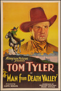 "Movie Posters:Western, The Man from Death Valley (Monogram, 1931). One Sheet (27"" X 41""). Western.. ..."