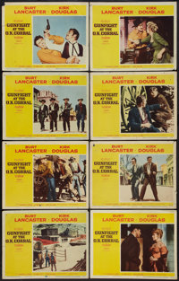 """Gunfight at the O.K. Corral (Paramount, 1957). Lobby Card Set of 8 (11"""" X 14""""). Western. ... (Total: 8 Items)"""
