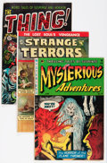Golden Age (1938-1955):Horror, Miscellaneous Golden Age Horror Comics Group (Various Publishers,1950s) Condition: Average VG+.... (Total: 3 Comic Books)