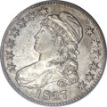 Bust Half Dollars, 1827 50C Square Base 2 MS64 PCGS. CAC. O-120a, R.3....