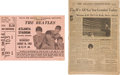 Music Memorabilia:Tickets, The Beatles Atlanta Stadium Ticket Stub (1965).... (Total: 2 Items)