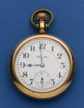 Timepieces:Pocket (post 1900), Hamilton 21 Jewel 16 Size Pocket Watch. ...
