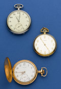 Timepieces:Pocket (post 1900), Three Longines Running 12 Size Pocket Watches. ... (Total: 3 Items)