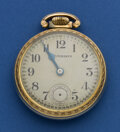 Timepieces:Pocket (post 1900), Studebaker Southbend 21 Jewel Pocket Watch. ...