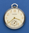 Timepieces:Pocket (post 1900), Paul Ditisheim Platinum Pocket Watch. ...
